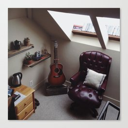 Room Corner Canvas Print