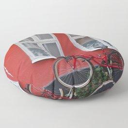 Swedish House Floor Pillow