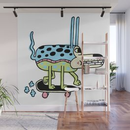 The Skate Pup Wall Mural