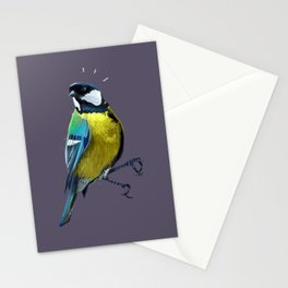 Great Tits Stationery Cards