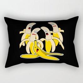 Banana Funny Banana Peel Rectangular Pillow