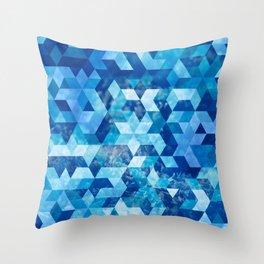 Cold Snowflake Throw Pillow