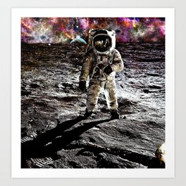 Moonman  Art Print