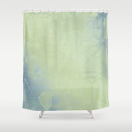 future fantasy country Shower Curtain