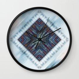 Messy Pattern I Wall Clock