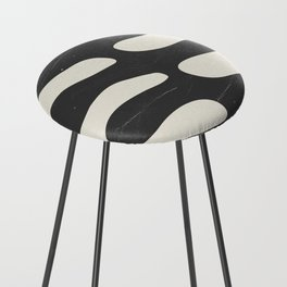 Abstract Plant 2 Counter Stool