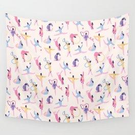Rhythmic Gymnastics Wall Tapestry