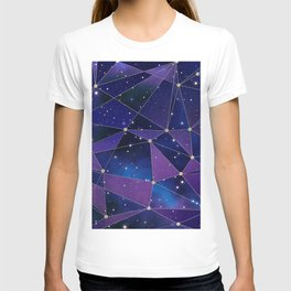 Interstellar Network Pattern T-shirt