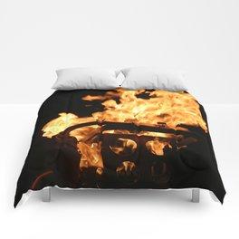 Flames Comforters