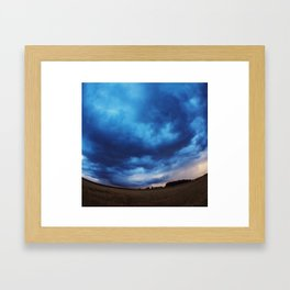 Rheinböllen Field  Framed Art Print