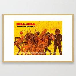 KILL BILL - the forth film by Quentin Tarantino Framed Art Print