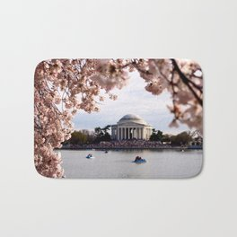 Cherry Blossoms of DC Bath Mat