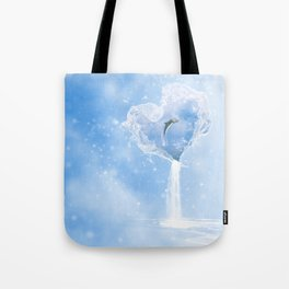 The Heart Of The Ocean Tote Bag