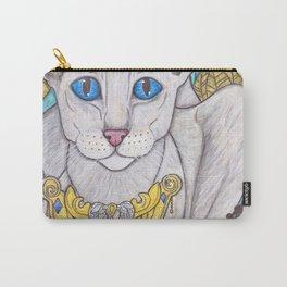 Oriental short hair cat Carry-All Pouch