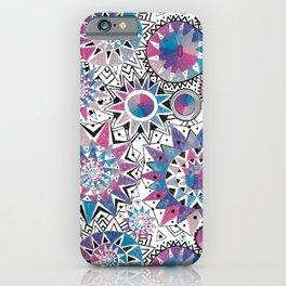 Boho kaleidoscopes iPhone Case