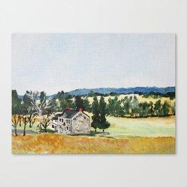 Valley Forge Pennsylvania United States Farmhouse Canvas Print
