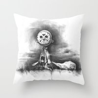 chuck Throw Pillows featuring The Chuck by Chad Wehrle