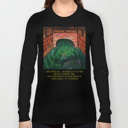 Canals Make Me Feel Eerie Long Sleeve T-shirt