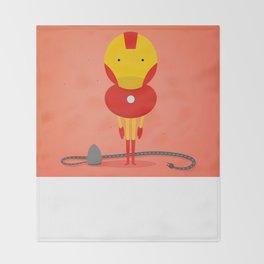 Ironman: My ironing Hero! Throw Blanket