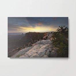Canyonlands Sunset Metal Print