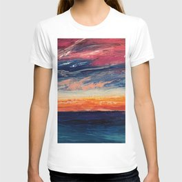 Abstract Sunset T-shirt