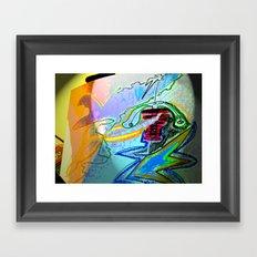 electroglide element 4  Framed Art Print