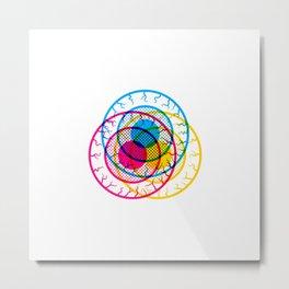 Eye Caramba! Metal Print
