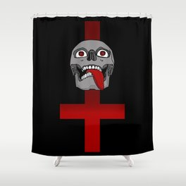 Impale the Falsely Righteous Shower Curtain