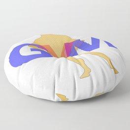 GYM Man 2 Floor Pillow