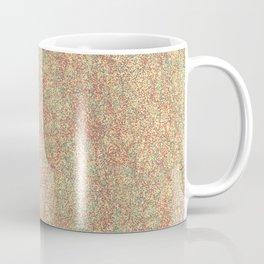 Warm Static Abstract Coffee Mug