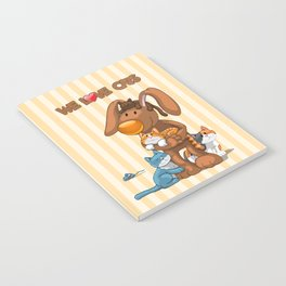 Rabbit catlover Notebook