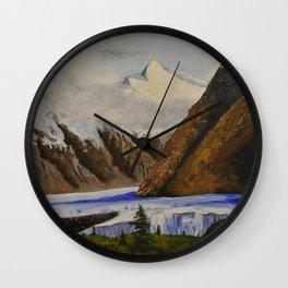 Matanuska Glacier Wall Clock