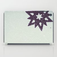snowflake iPad Cases featuring snowflake by Beverly LeFevre