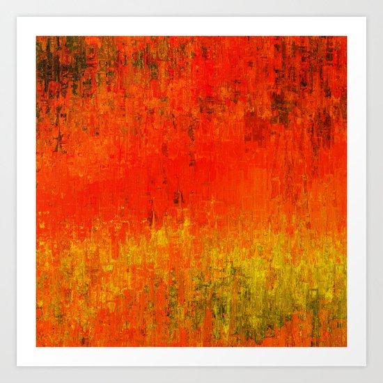 Orangia Art Print