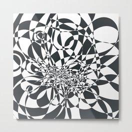Doodle burst Metal Print