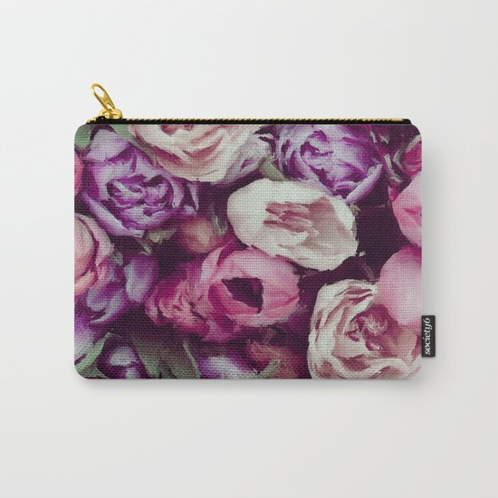 magnificent painted flowers Carry-All Pouch