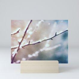 The Sound of Snow Mini Art Print