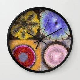 Ergastic Entity Flower  ID:16165-005314-25310 Wall Clock