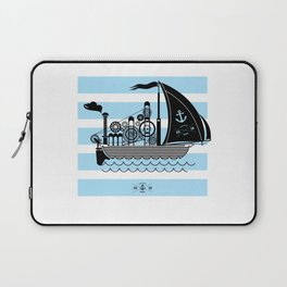 Fantastic steaming ship Laptop Sleeve