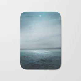 Sea Under Moonlight Bath Mat