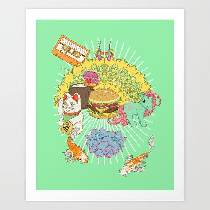 Nurture your inner geek 03 Art Print
