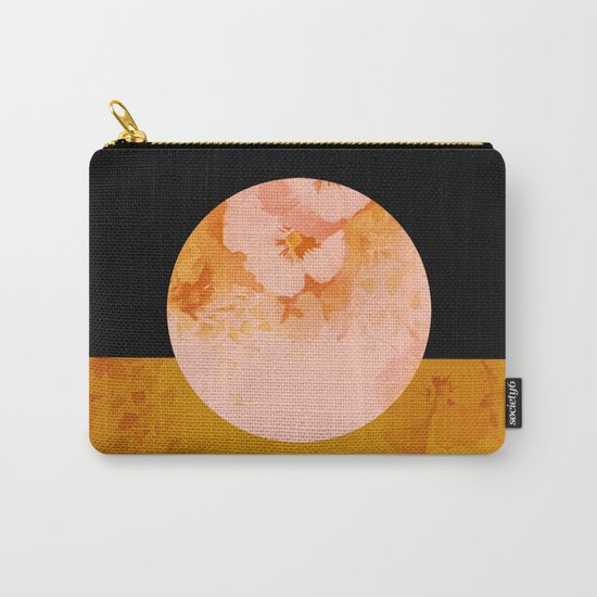 moon floral Carry-All Pouch