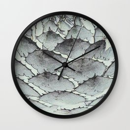 Aloe Vera Abstract Wall Clock