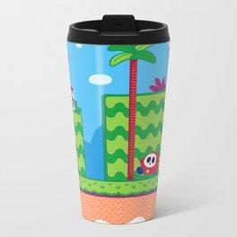 Tiny Worlds - Super Mario Bros. 2: Mario Metal Travel Mug