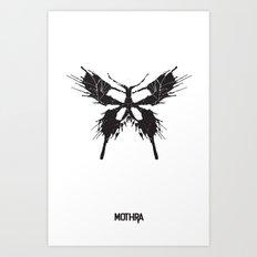 Mothra Art Print