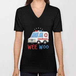 Paramedic  Ambulance Gift Unisex V-Neck