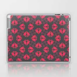 Flamingo Hearts Laptop & iPad Skin