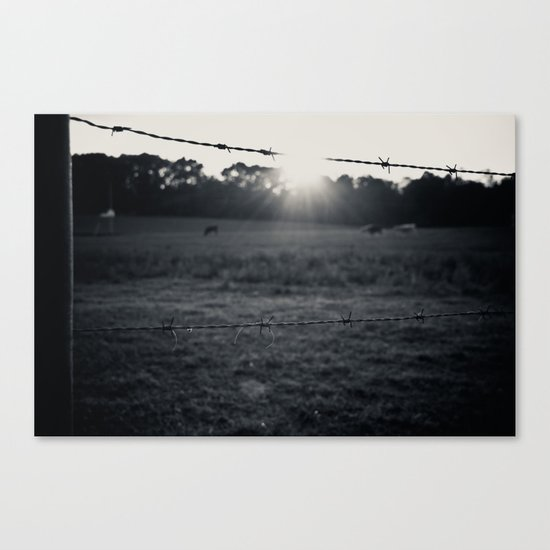 Locals Only - Augusta County, Virginia Canvas Print