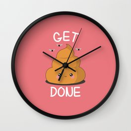 Get Sh** Done Wall Clock