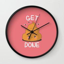 Get Sh** Done Wall Clock